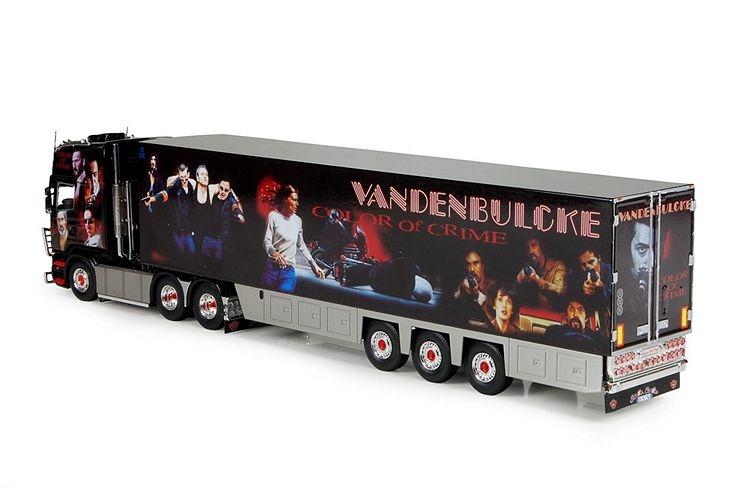 Scania R Topline kofferauflieger Vandenbulcke La French