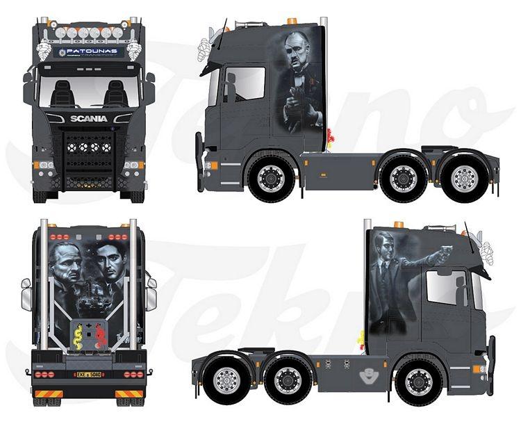 Scania R Topline Patounas