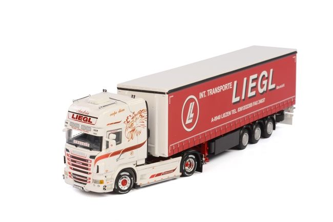Scania R Topline Planenauflieger  Liegl