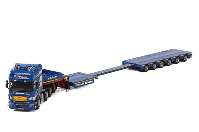 Scania R Topline Semittieflader Adams