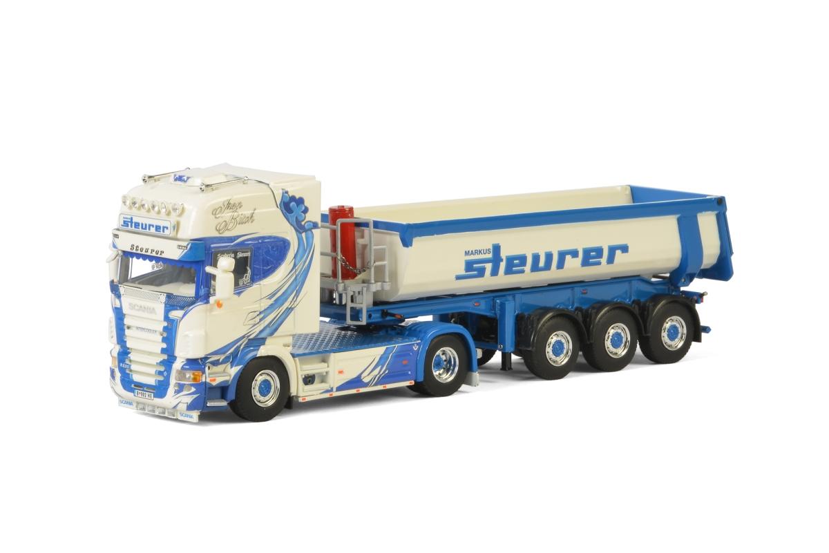 Scania R Topline Tipper Trailer Steurer