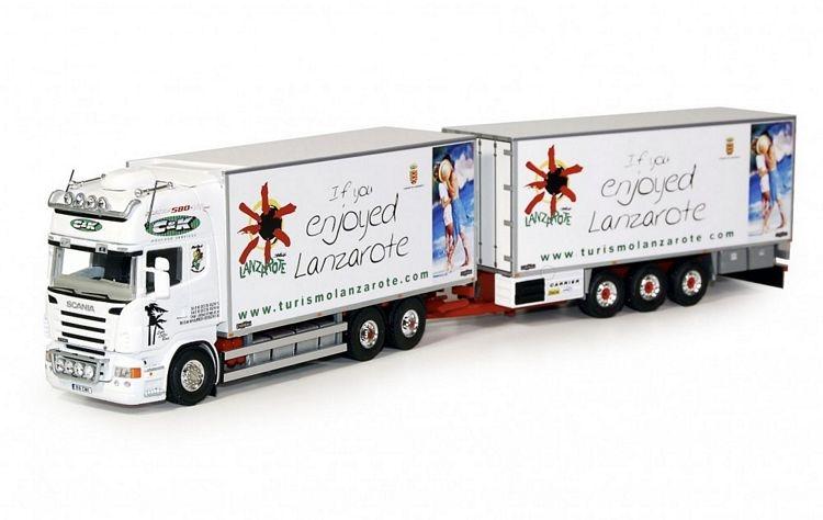 Scania R Topline Volumen Kombination Haulage C&K