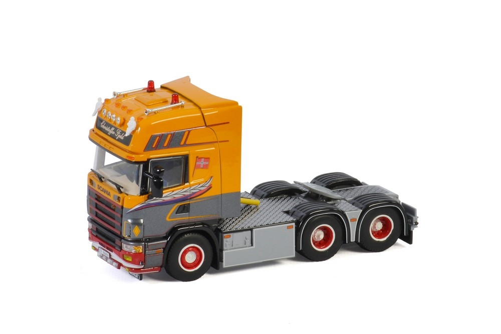 Scania R4 Topline 6X2   Christoffer Fjeld