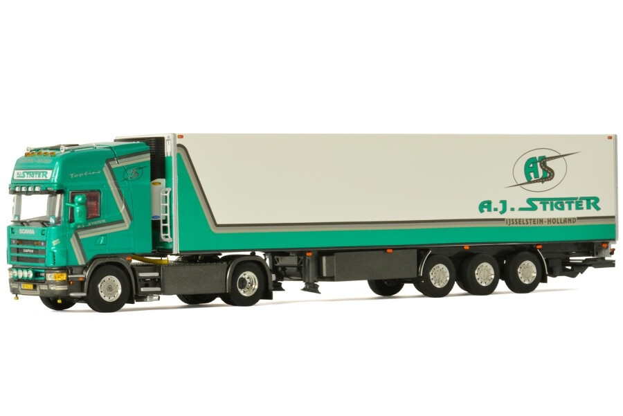 Scania R4 Topline Reefer   A.J. Stigter Transport