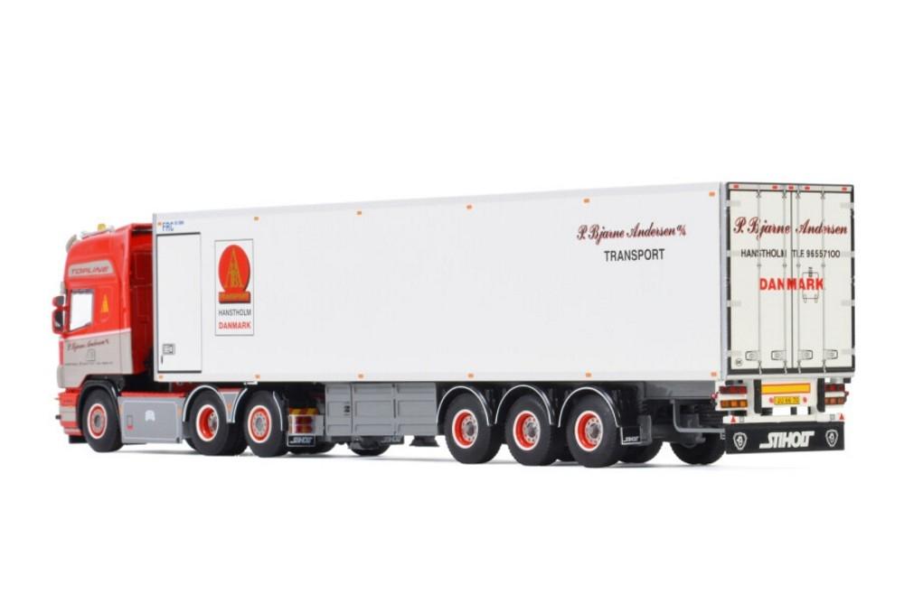 Scania R4 Topline Reefer Trailer  P. Bjarne Andersen