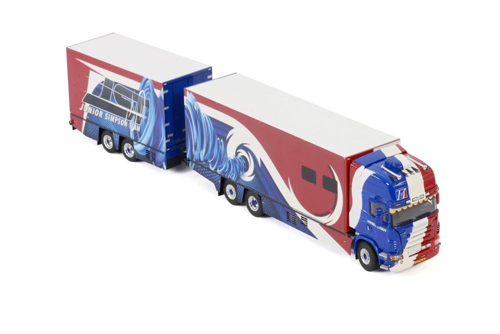 Scania R5 Topline  combi   Jonker & Schut