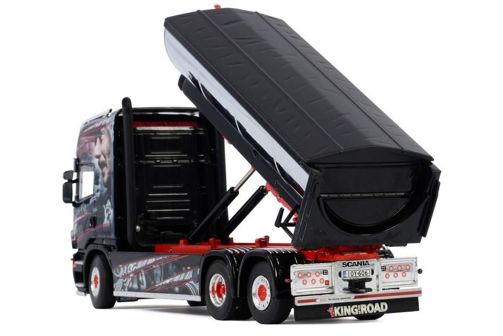 Scania R5 Topline  Hooklift System Asphalt  Kuismanen