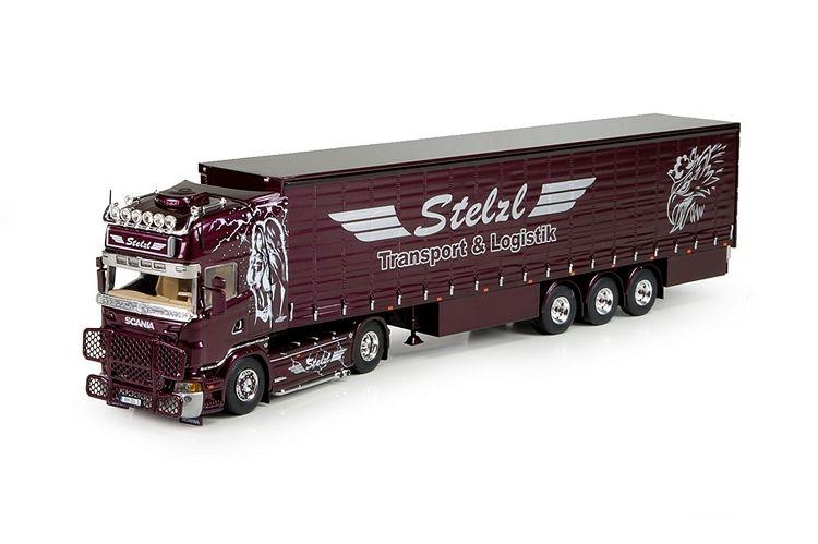 Scania R5 Topline Schiebeplanen  Stelzl