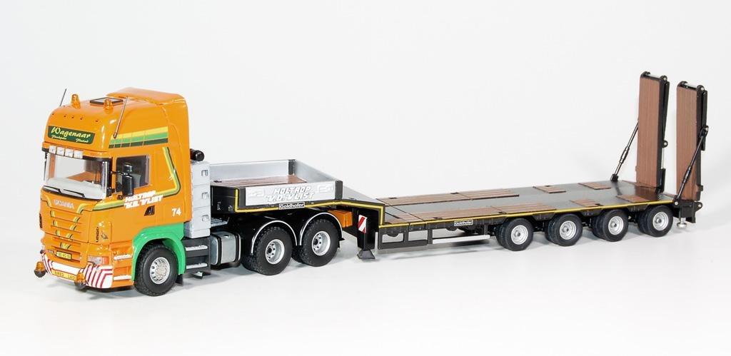 Scania R500 Topline  Tieflader Goldhofer Holtrop v.d. Vlist