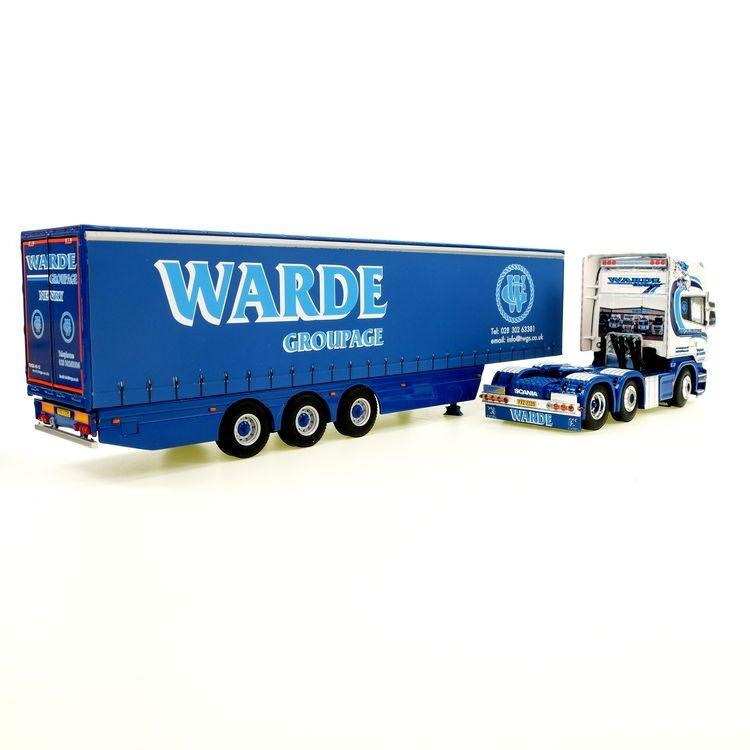Scania R6 Curtainside WARDE