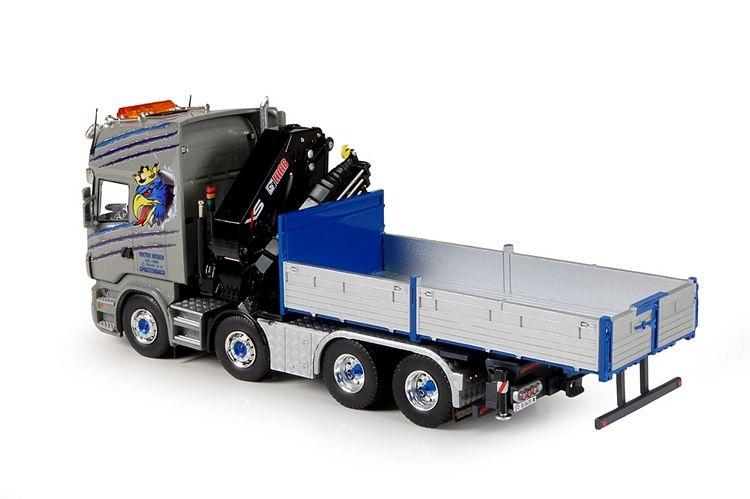 Scania R6  HIAB kran Weber Viktor