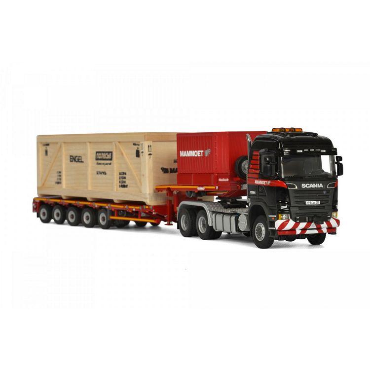 Scania R6 Highline 6x6  low loader  Mammoet