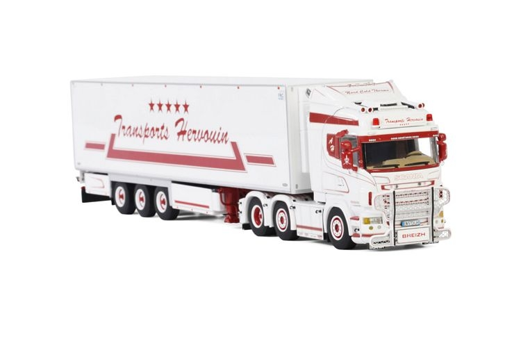 Scania R6 Highline Reefer Trailer  Hervouin
