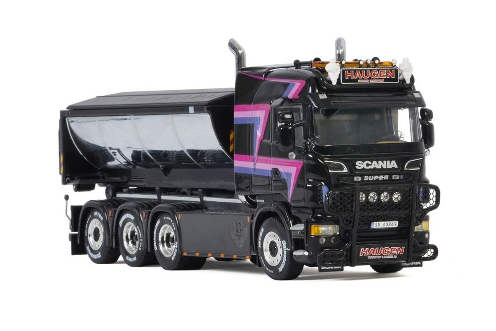 Scania R6 Highline  Riged Hooklift System Aphalt Haugen