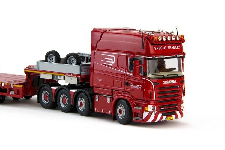 Scania R6 Longline  Nooteboom