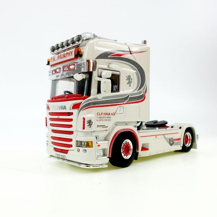 Scania R6 Topline 6x2 rot