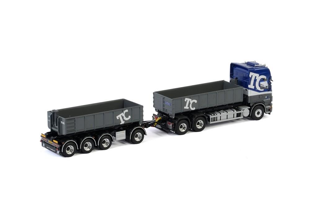 Scania R6 Topline Hooklift system Drawbar  TC-Trading