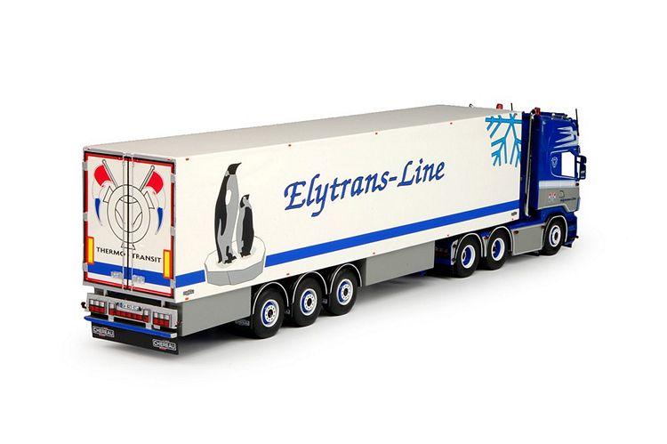 Scania R6 Topline  Kühlauflieger Elytrans-Line