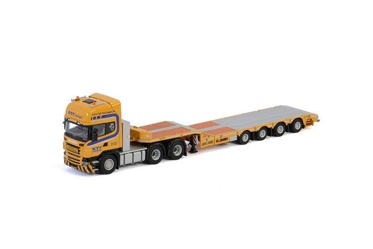 Scania R6 Topline Semi Lowloader  KTF Harlingen