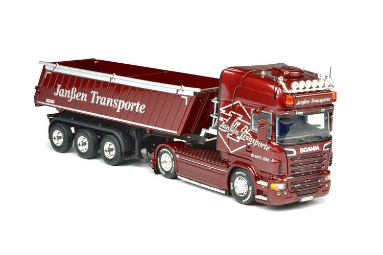 Scania R6 Topline Tipper Janßen Transporte