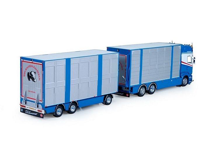 Scania R7 Topline livestock Rooyen van