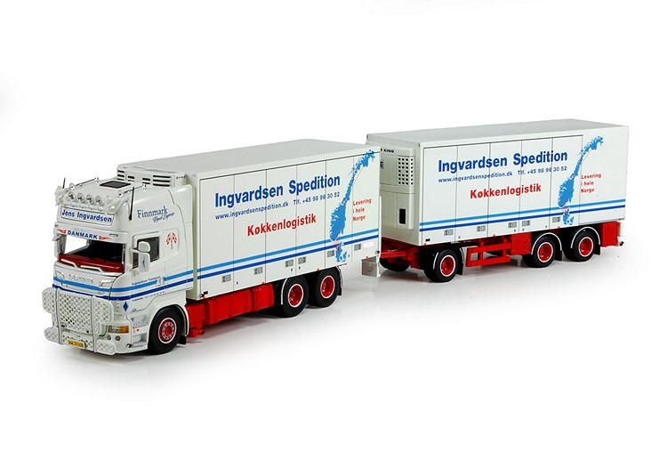 Scania R730 Rigid truck trailer Ingvardsen Jens