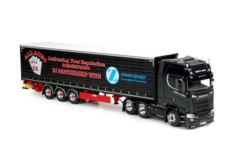 Scania S 580  Coles & son