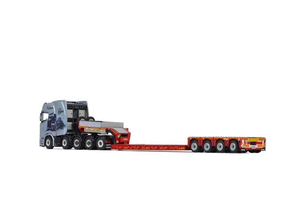 Scania S  CS20H  Low Loader  Esser Schwertransporte