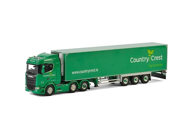 Scania S  CS20N Kuehlauflieger Carrier  Country Crest