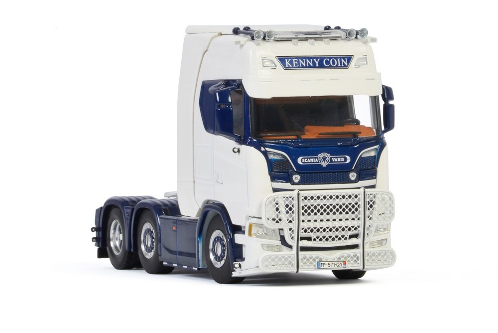 Scania S Highline CS20H   Twinsteer  Kenny Coin Transports