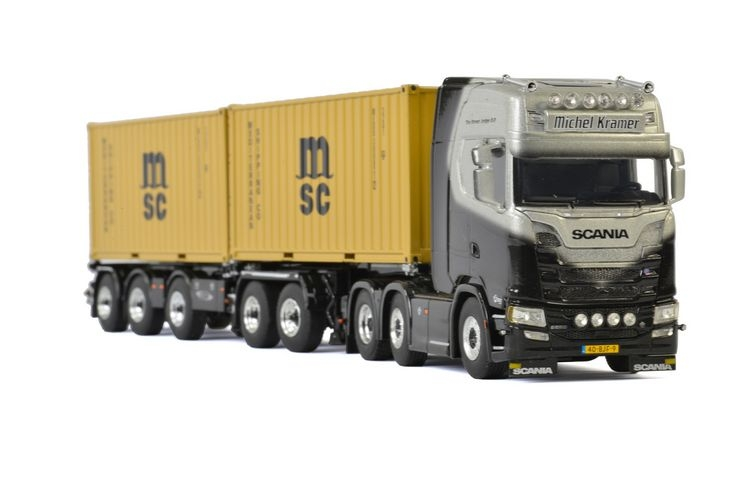 Scania S Highline CS20H  2x20Ft Container  Michel Kramer