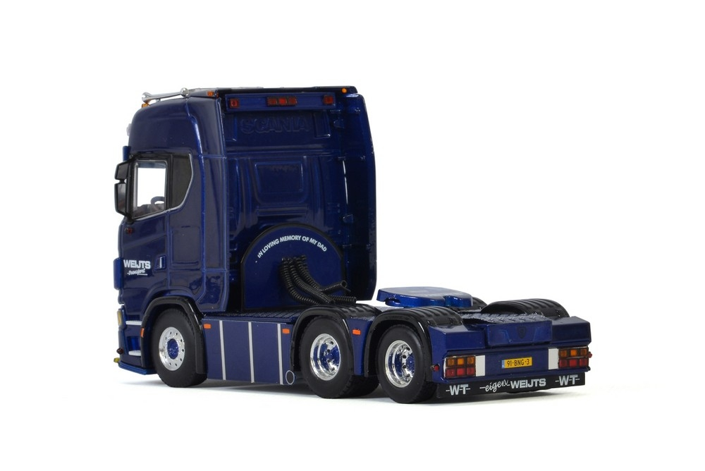 Scania S Highline CS20H 6X2 Tag axle  Weijts Transport