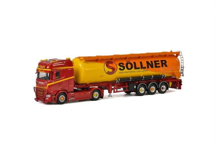 Scania S Highline CS20H Bulk Trailer  Soellner
