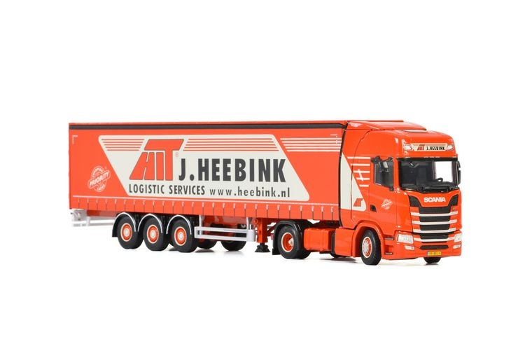 Scania S Highline CS20H Curtain Side  Heebink