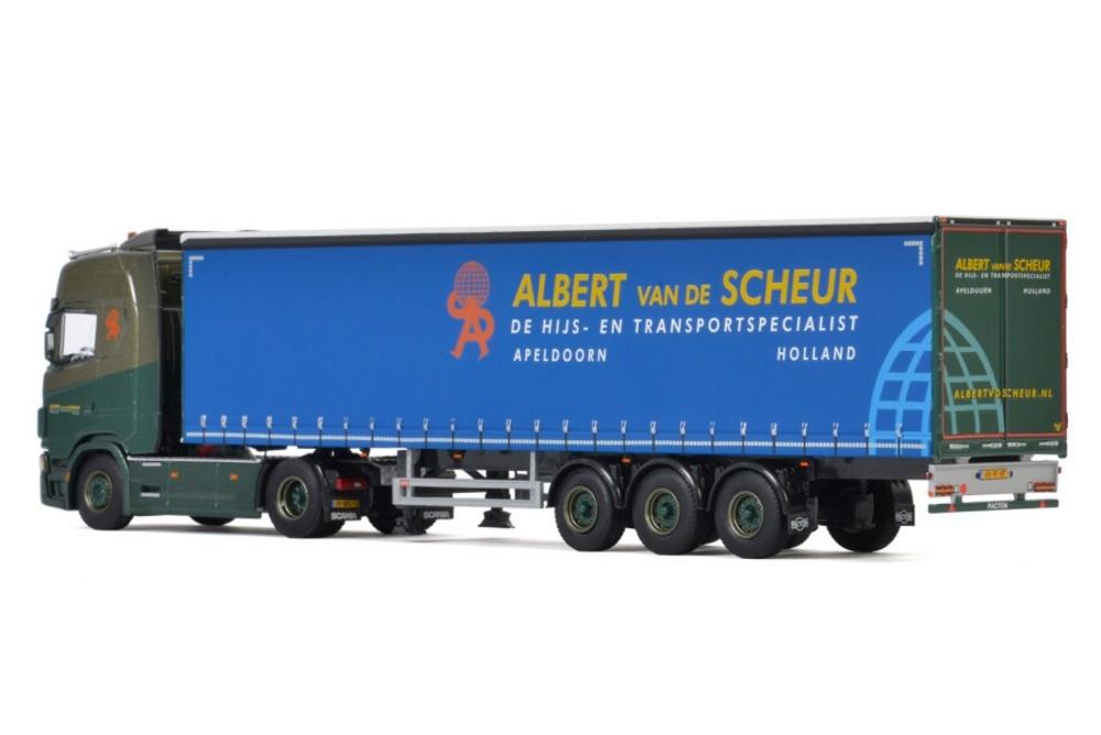Scania S Highline CS20H  Curtainside   Albert van de Scheur