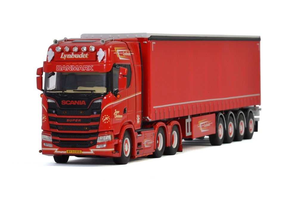 Scania S Highline CS20H  Curtainside   Jesper Christensen