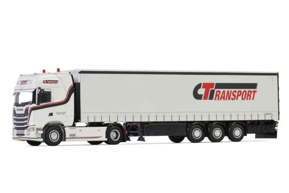 Scania S Highline CS20H Curtainside Corne Timmer Transport