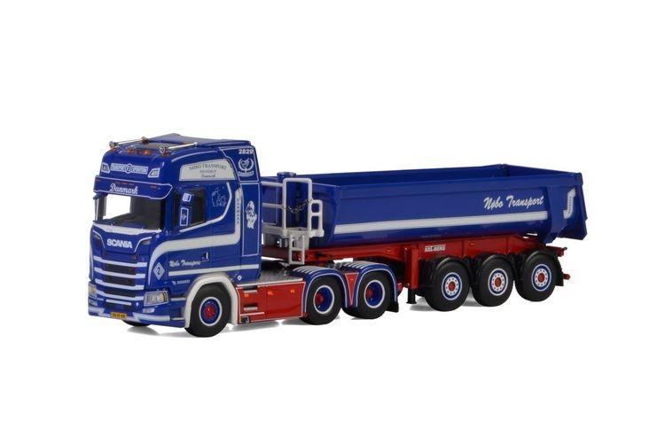 Scania S Highline CS20H Halfpipe Tipper  Simon Jensen WSI Models 01-2476 1:50