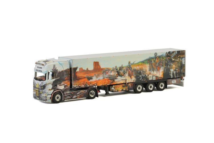 Scania S Highline CS20H Kuehlauflieger  Heide Logistik