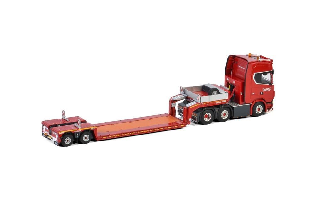 Scania S Highline CS20H Lowloader  Nooteboom KNT Red Line