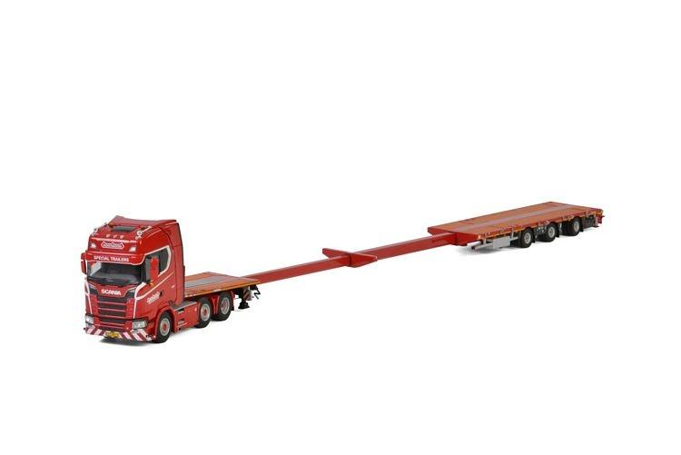 Scania S Highline CS20H Megatrailer KNT Red Line