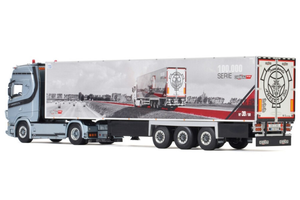 Scania S Highline CS20H  Reefer   Aubert & Fils