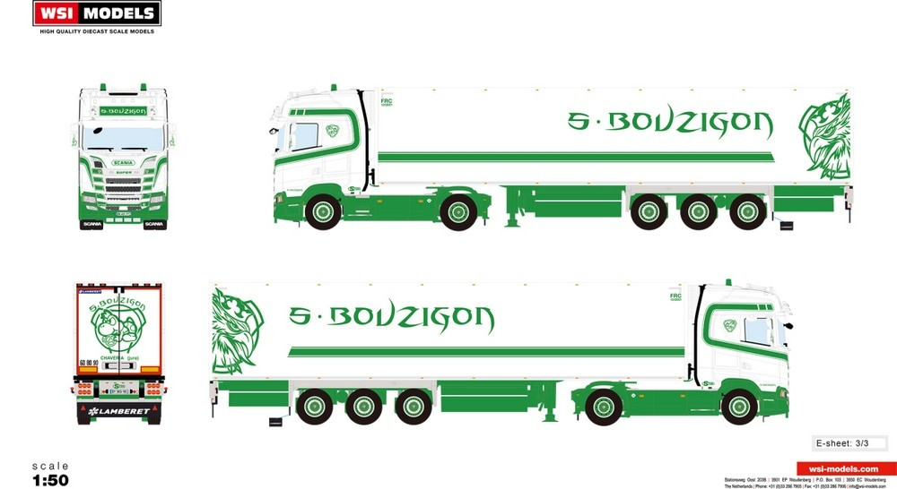 Scania S Highline CS20H  Reefer   S. Bouzigon