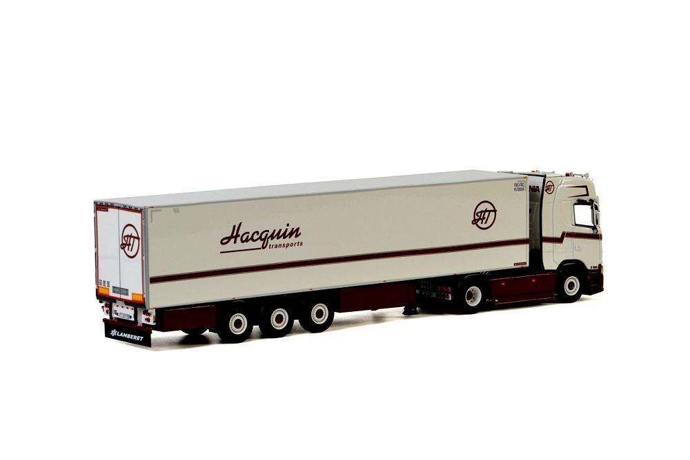 Scania S Highline CS20H Reefer  Hacquin Transports