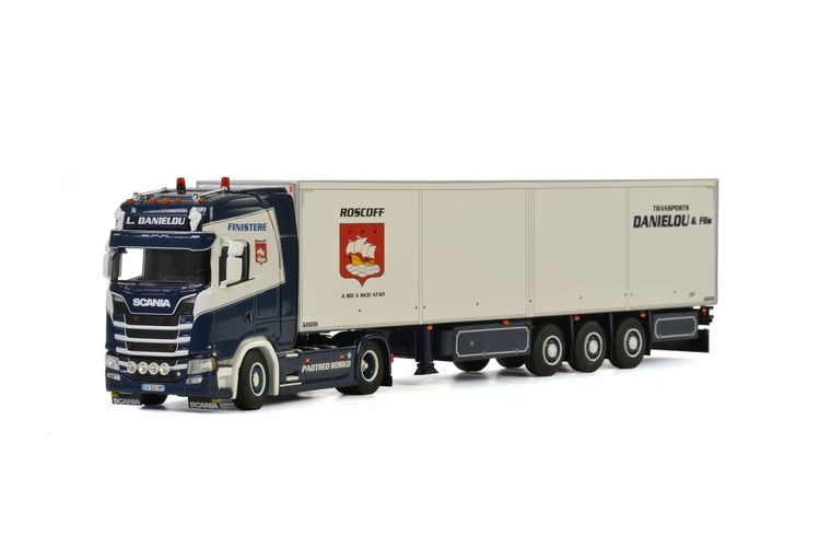 Scania S Highline CS20H Reefer  L Danielou
