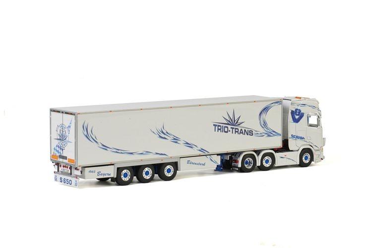 Scania S Highline CS20H Reefer Trailer  3 axle Trio Trans