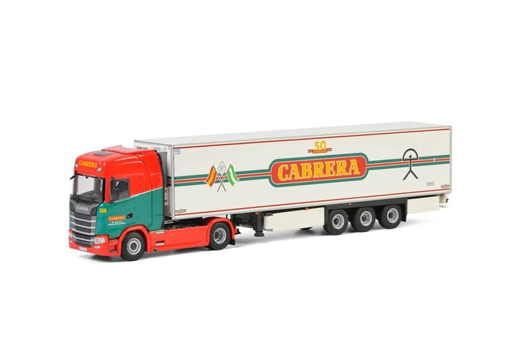 Scania S Highline CS20H Reefer Trailer  Cabrera