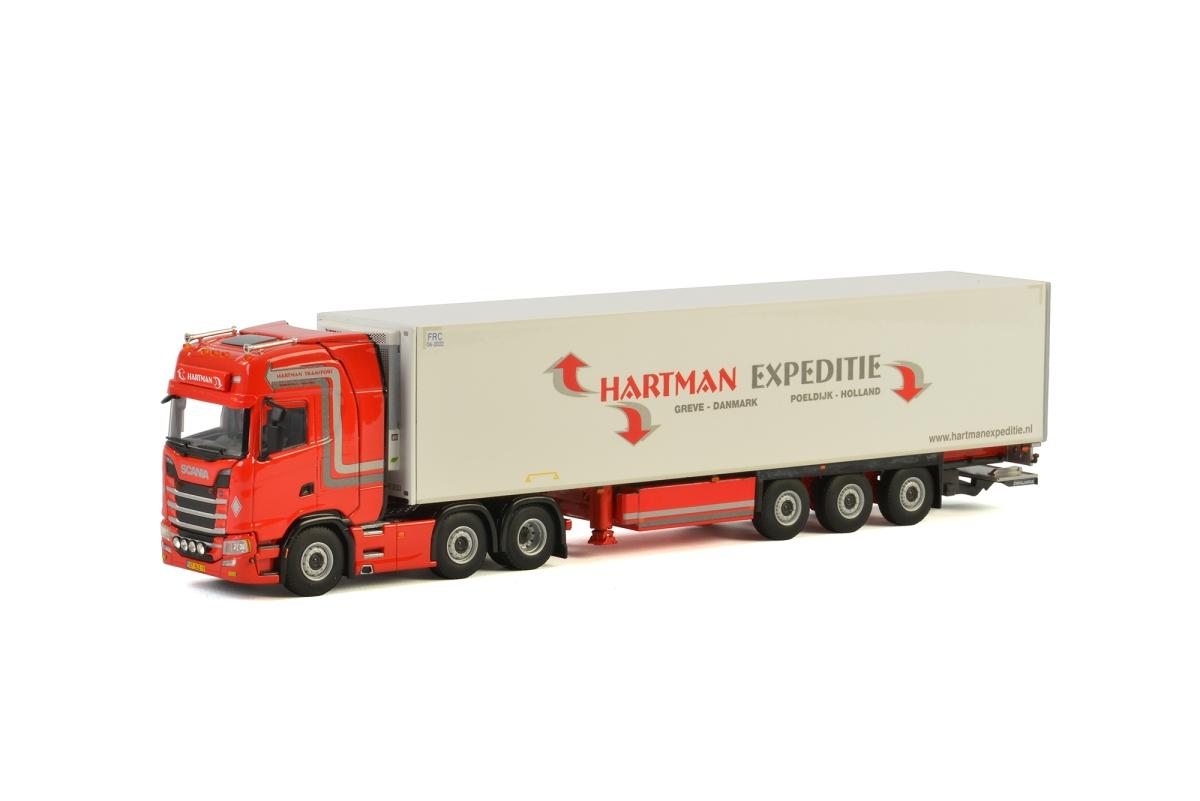 Scania S Highline CS20H Reefer Trailer Hartman Expeditie