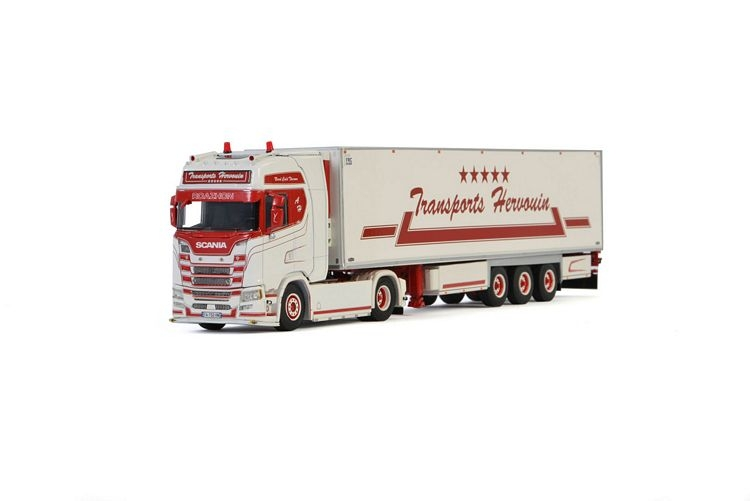 Scania S Highline CS20H  Reefer Trailer  Hervouin