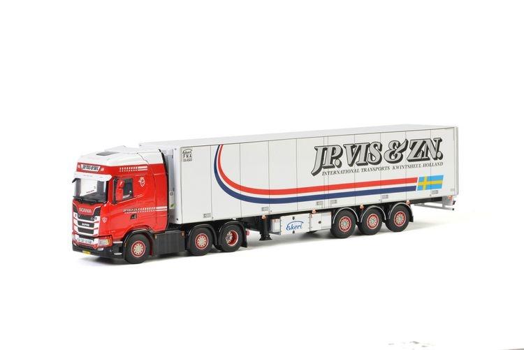 Scania S Highline CS20H Reefer Trailer JP. Vis & Zn